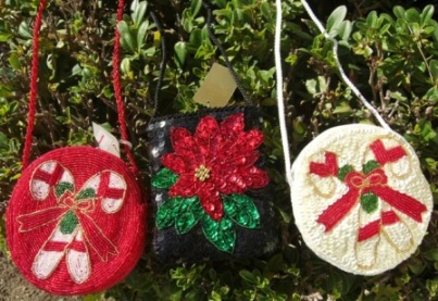Ornamental Purses for the Tree
