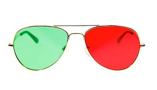 3D Aviator Glasses