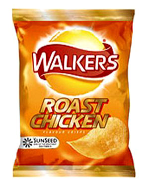 Walkers Roast Chicken Potato Chips