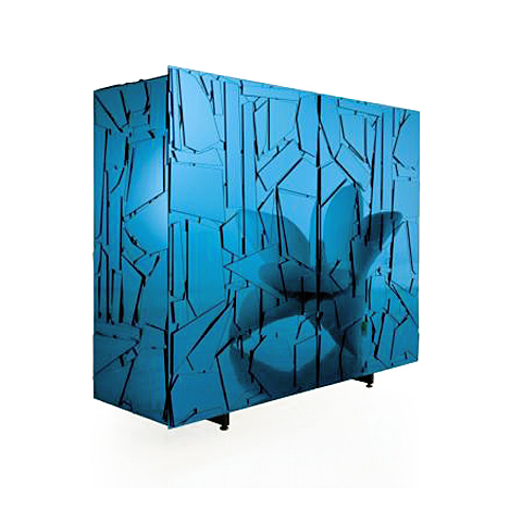 Scrigno Cabinet by Fernando and Humberto Campana: for Edra, Italy