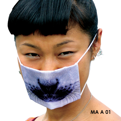 Get Well Soon Seal Flu Mask: ©Samira Boon