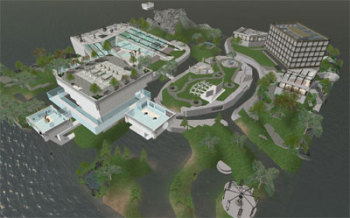 Screen shot of second life.: The Lemelson Center for the Study of Innovation &amp;amp; Invention