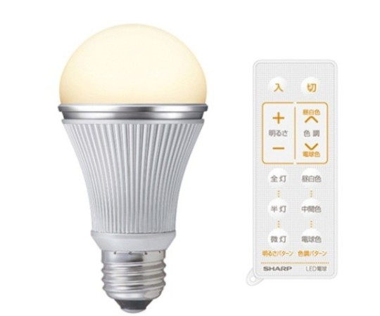 No, Itu0027s Not A Bizarro Version Of Henry Ford, Just Sharpu0027s New LED Light  Bulb. Using The Included Remote Control One Can Dial ... Photo Gallery