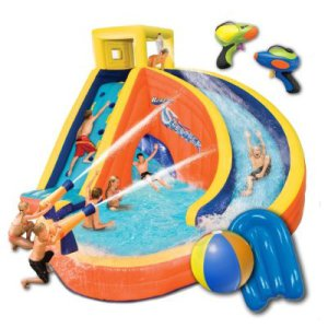 An Inflatable Water Adventure
