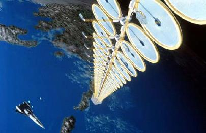 Illustration of NASA's Suntower in late '90s