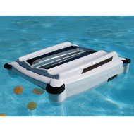 The World's First Solar Powered Robotic Pool Skimmer