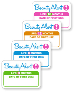 Cosmetic Expiry Stickers