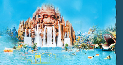 A Swimming Pool for the Gods?: Source: Suoi Tien Park
