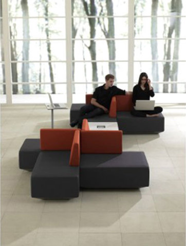 dna Collaborative Seating & Tables by Teknion, Best of NeoCon 2010 Awards, Benches Gold Award