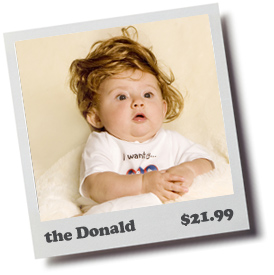 The Donald Baby Toupee