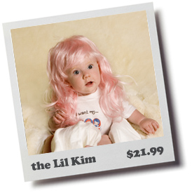 The Lil Kim Baby Toupee