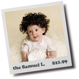 The Samuel Baby Toupee