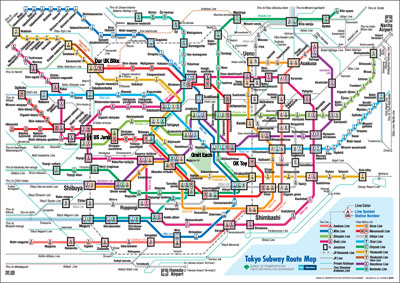 Tokyo's sublime subway system
