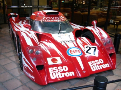 "Another 1999 Toyota Le Mans racer - ""I'll be back!"""