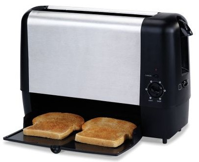 Trap Door Toaster