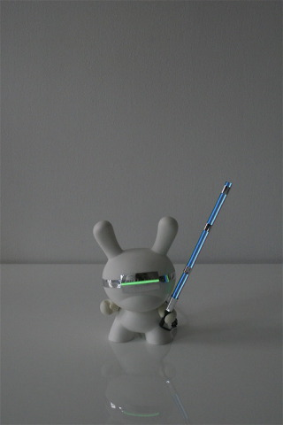 Lightbot Dunny: Captain Light Master Dunny: Marcus Tremonto for Kidrobot