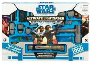 This lightsaber is no mere flashlight.