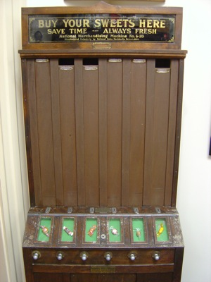 An early vending machine