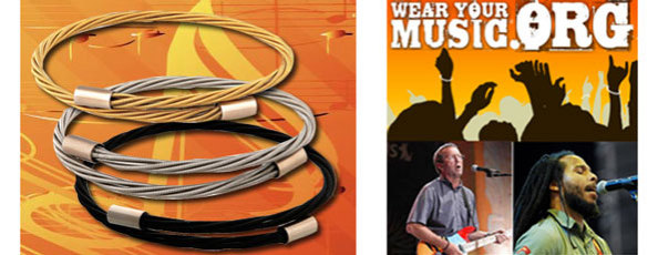 Wear Your Music Bracelets