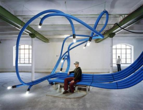 Temporary installation in Marseille, France