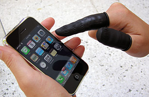 Phone Fingers: image via Time.com